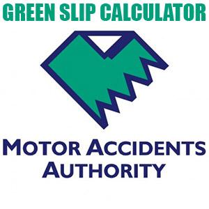 MAA Green Slip Calculator